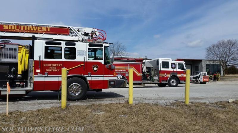 Gas Line Struck - Southwest Allen County Fire Protection